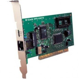 Carte Réseau D-Link DFE-530TX PCI-bus 10/100Mbs Fast Ethernet NIC with WOL